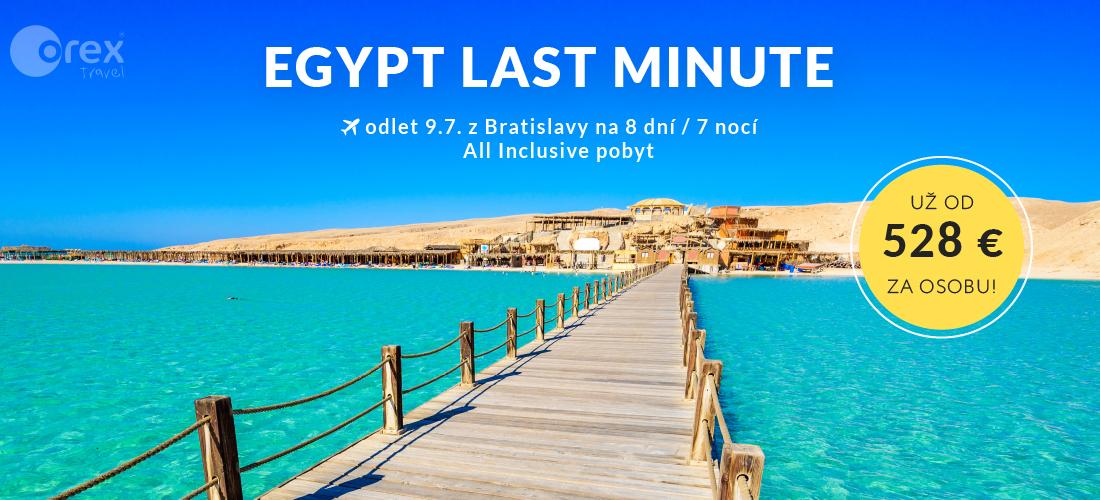EGYPT LAST MINUTE